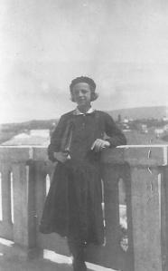 Μαρία Παπανικολάου στα Χανιά , Μάιος 1930