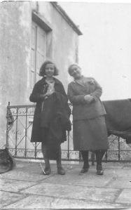 Μονή Αρκαδίου , Μαρία Παπανικολάου και κα Δαρμάρου , 28 12 1930