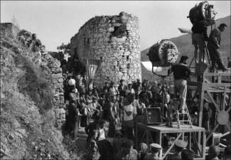 """φωτ.7/Γυρίσματα της ταινίας """"Ο Χριστός ξανασταυρώνεται"""" του Ζιλ Ντασέν_1956"""